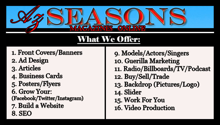 Az SEASONS MAGAZINES ONLINE – The Affordable Multimedia Company